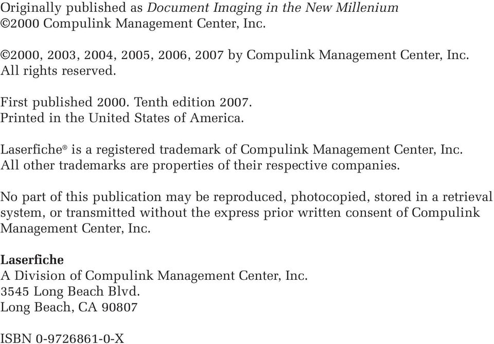 All other trademarks are properties of their respective companies.