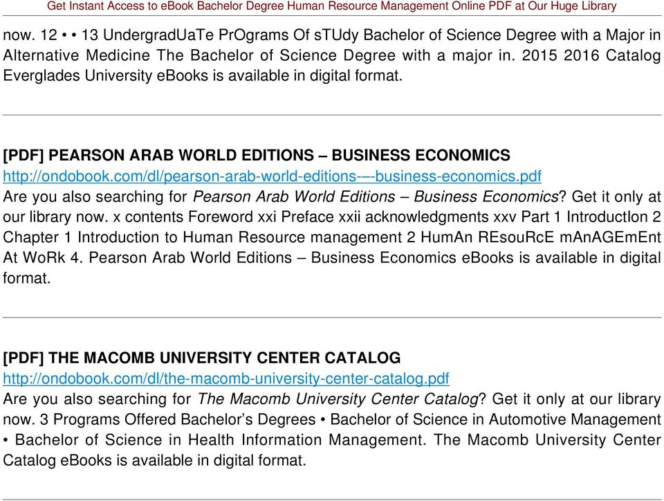 pdf Are you also searching for Pearson Arab World Editions Business Economics? Get it only at our library now.