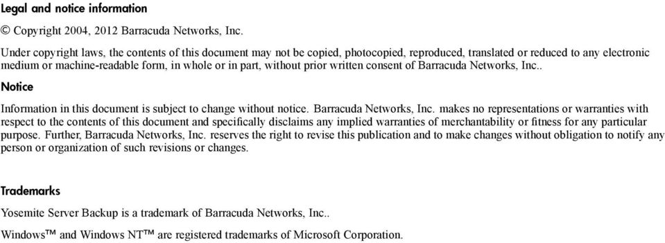 prior written consent of Barracuda Networks, Inc.