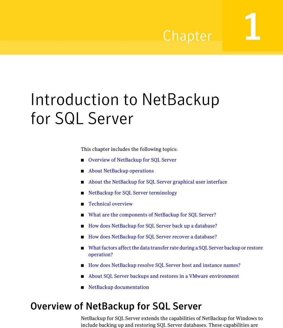 How does NetBackup for SQL Server recover a database? What factors affect the data transfer rate during a SQL Server backup or restore operation?