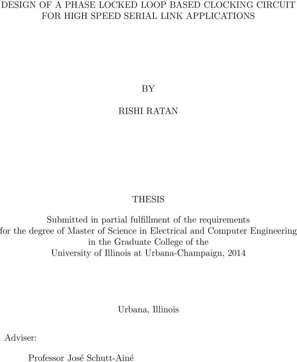 Uiuc thesis format