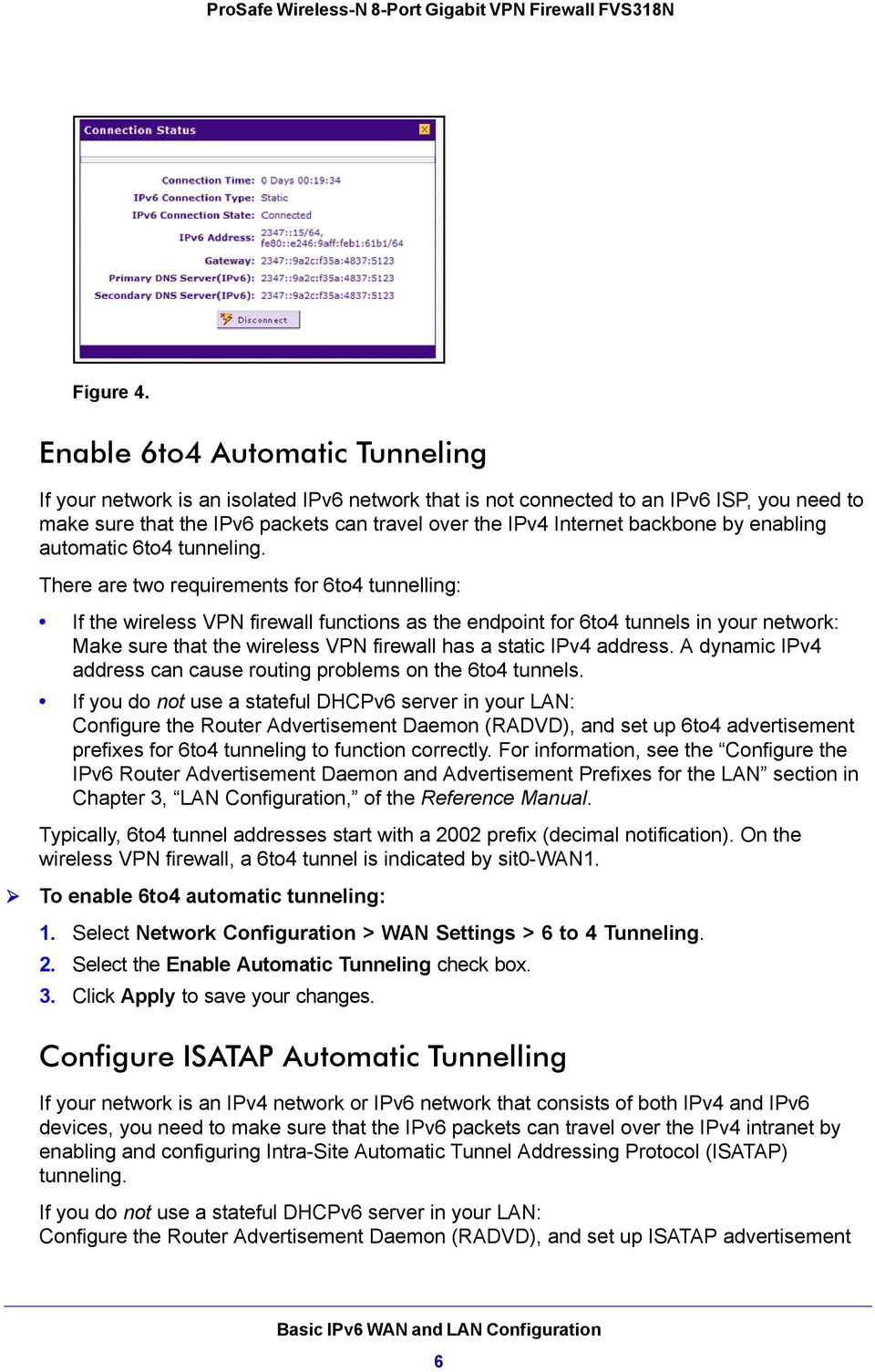 backbone by enabling automatic 6to4 tunneling.