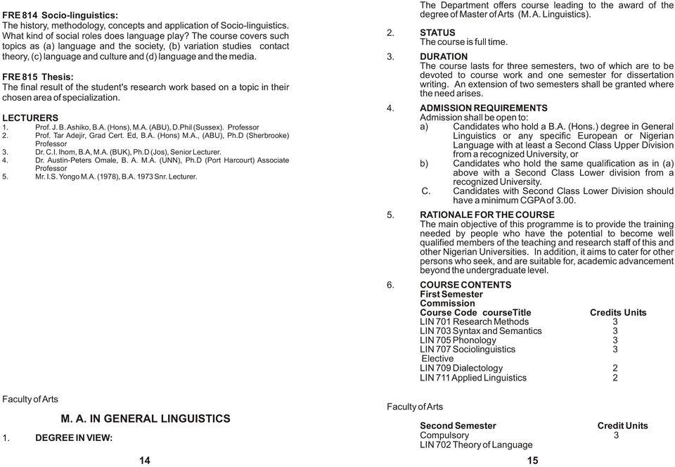 undergraduate dissertation linguistics Theses in linguistics: complete list this page contains a list of theses submitted as part of the master's program in linguistics at the university of north dakota  most, if not all, of them are on file at the und library.