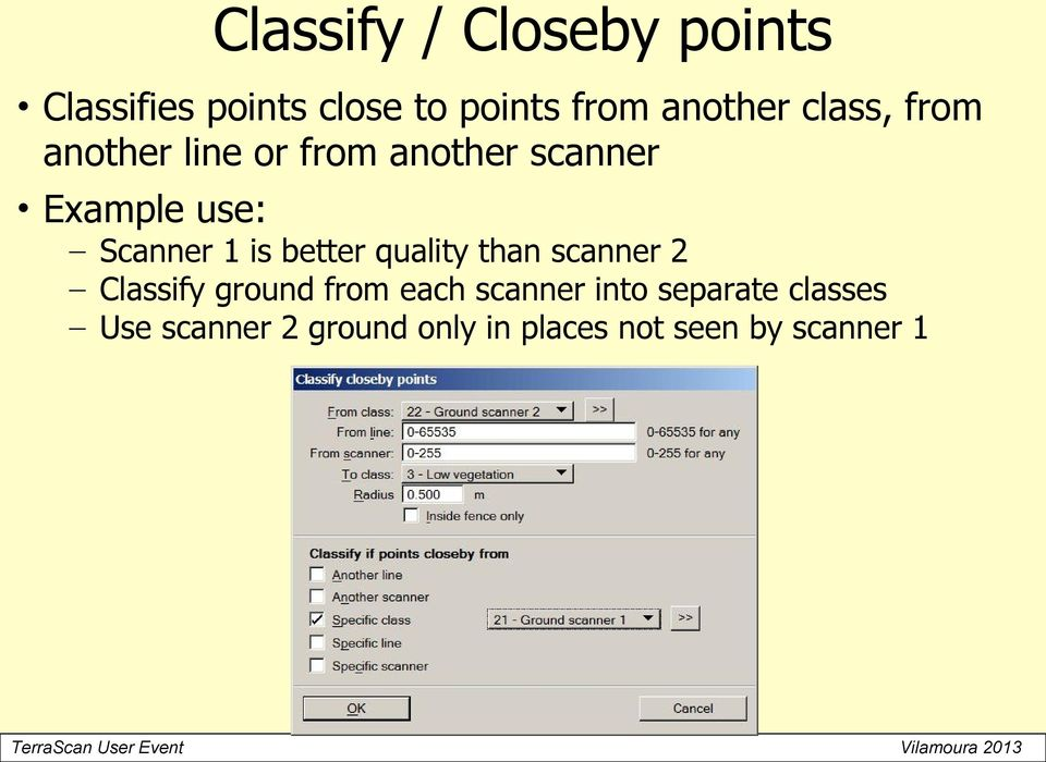 better quality than scanner 2 ify ground from each scanner into
