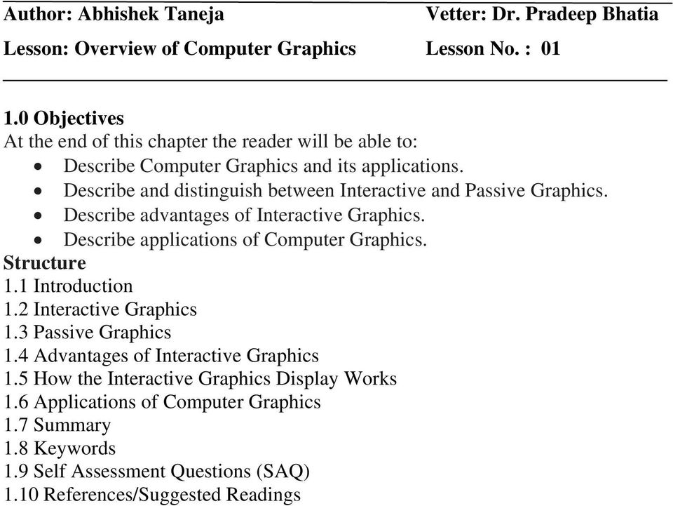 gks in computer graphics pdf