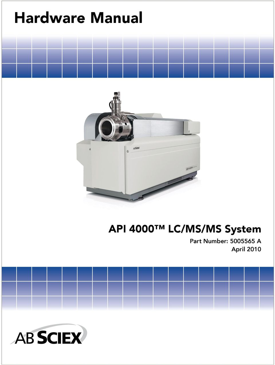 LC/MS/MS System Part