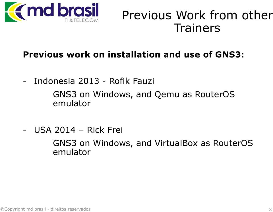 Fauzi GNS3 on Windows, and Qemu as RouterOS emulator - USA