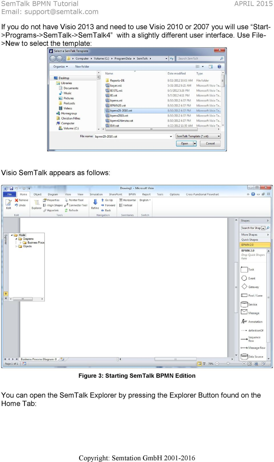 how to use visio 2007 pdf