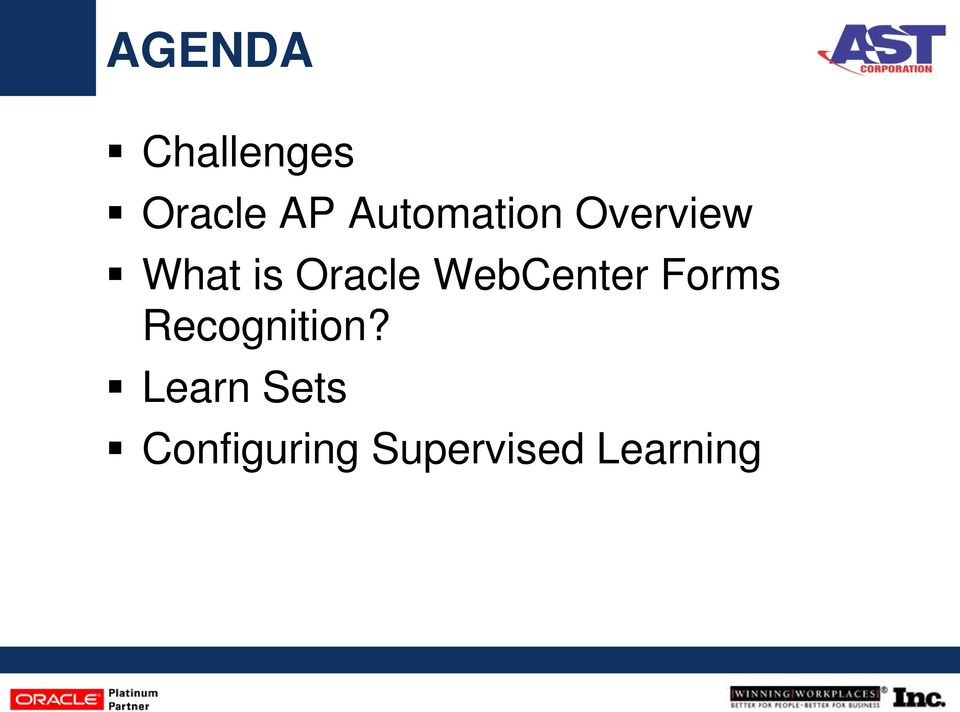 Oracle WebCenter Forms