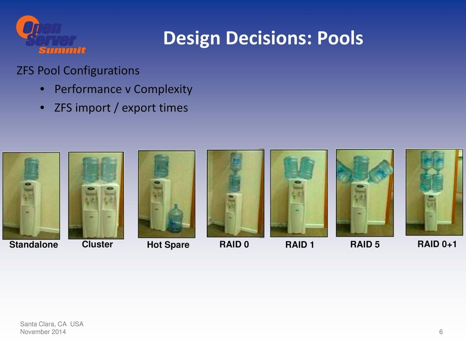 Decisions: Pools Standalone Cluster Hot