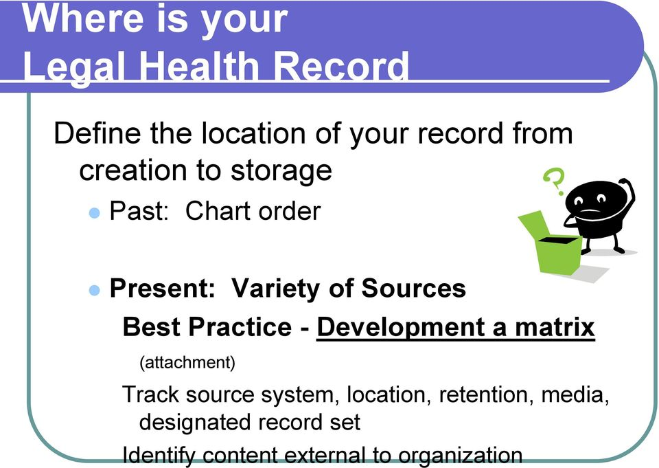 medical records definition