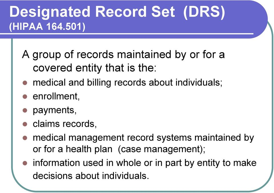 billing records about individuals; enrollment, payments, claims records, medical management