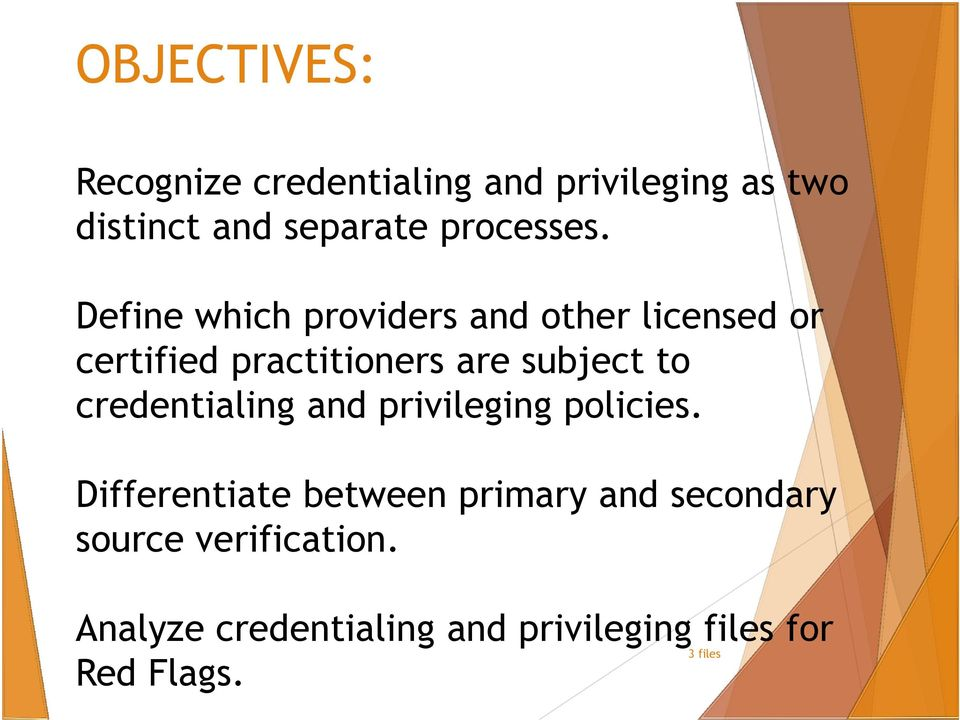 Define which providers and other licensed or certified practitioners are subject to
