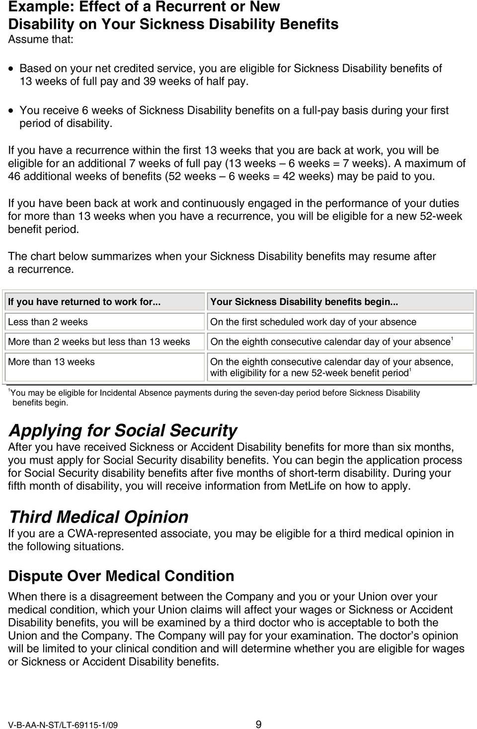 Your Disability Benefits - PDF
