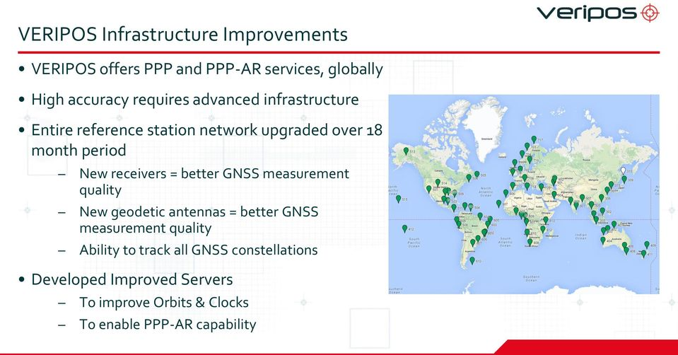 receivers = better GNSS measurement quality New geodetic antennas = better GNSS measurement quality