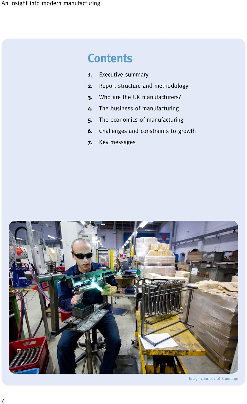 Who are the UK manufacturers? 4.