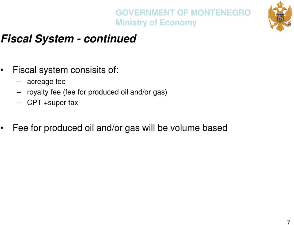 for produced oil and/or gas) CPT +super tax