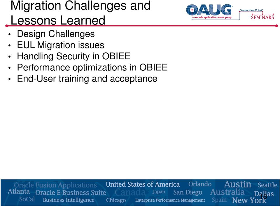 Handling Security in OBIEE Performance