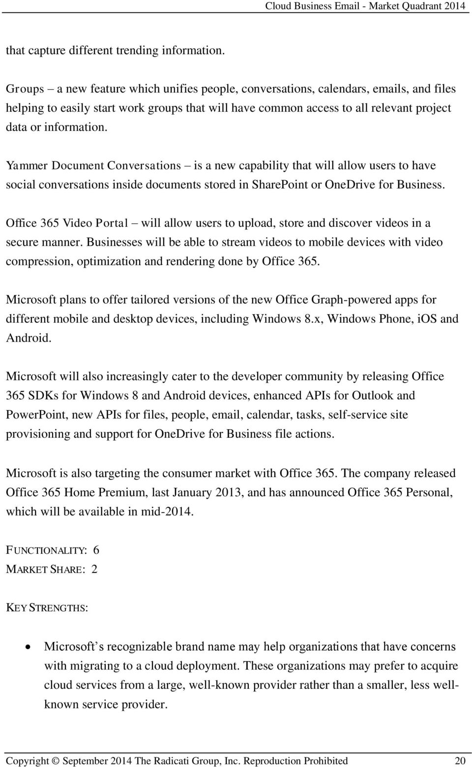 Yammer Document Conversations is a new capability that will allow users to have social conversations inside documents stored in SharePoint or OneDrive for Business.