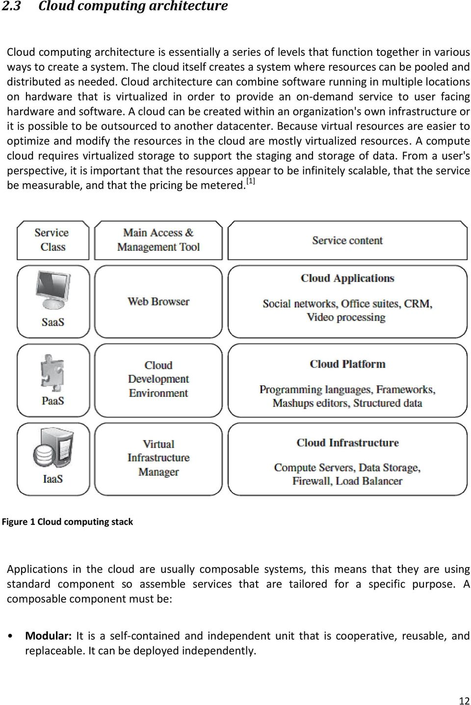 Cloud architecture can combine software running in multiple locations on hardware that is virtualized in order to provide an on-demand service to user facing hardware and software.