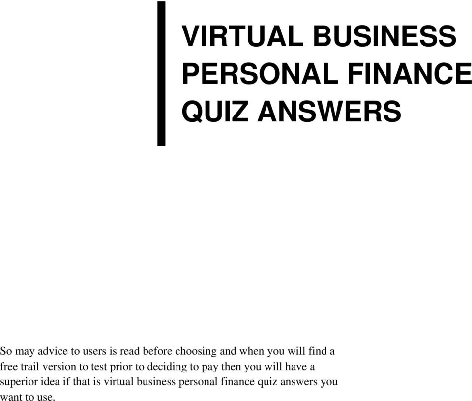 finance test with answers Chapter 14 financial planning problems and answers.