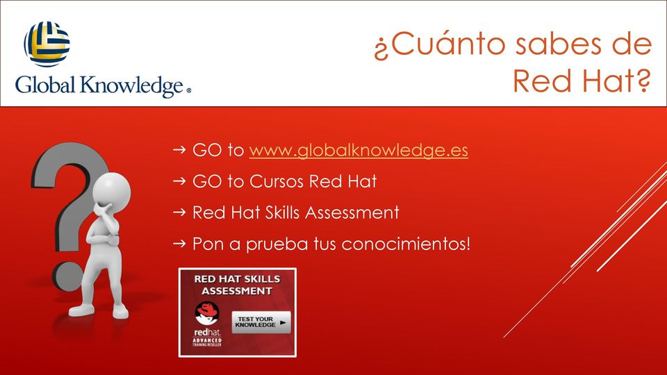 es GO to Cursos Red Hat Red Hat