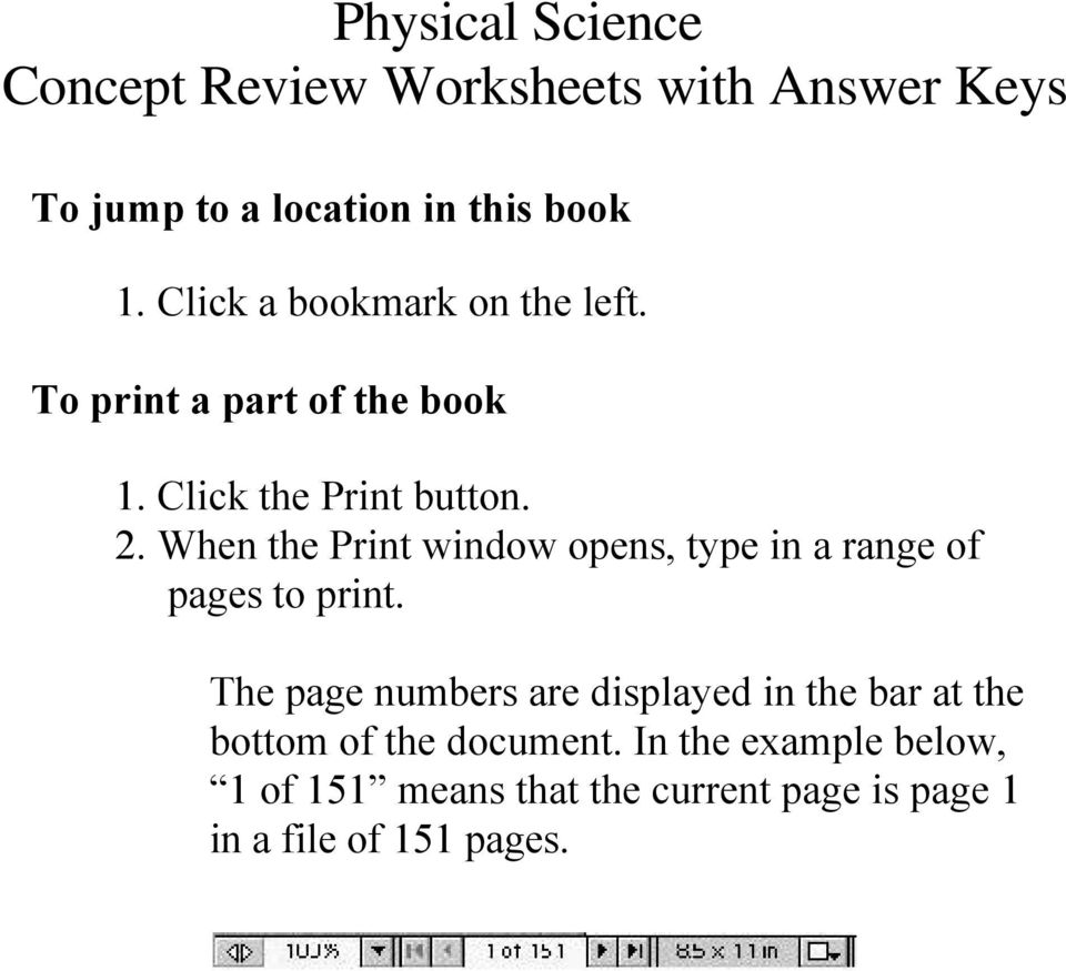 Worksheets Holt Science Spectrum Worksheets physical science concept review worksheets with answer keys pdf transcription 1 worksheets