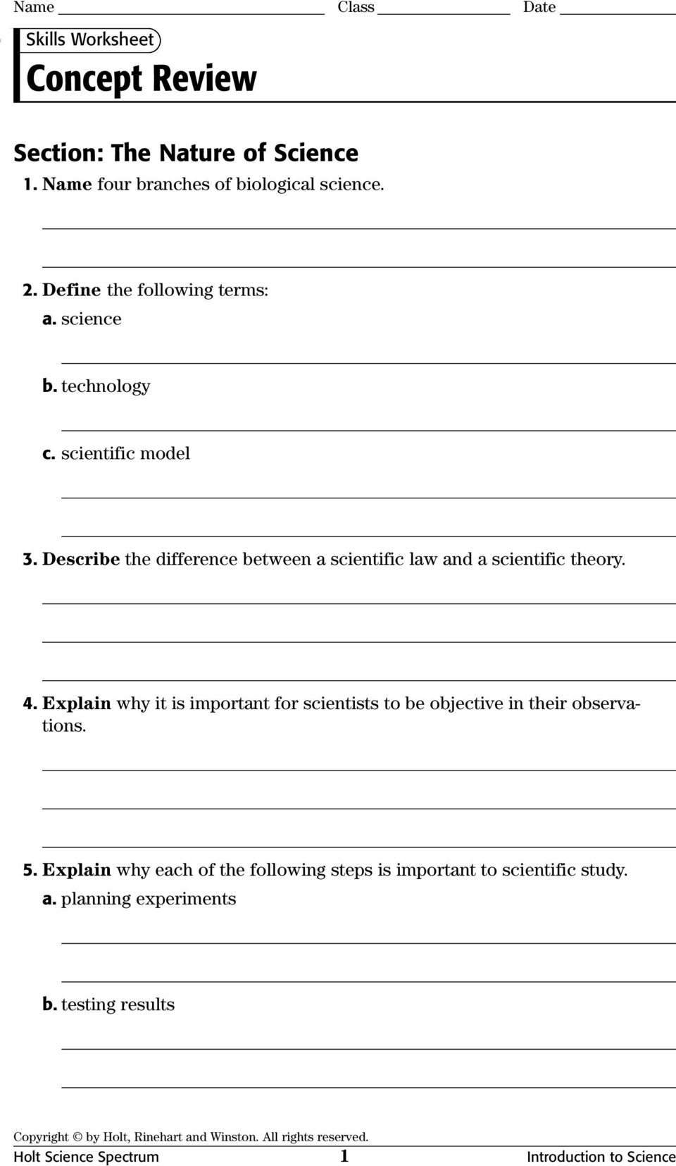 Worksheets Physical Science Worksheets Answers physical science concept review worksheets with answer keys pdf explain why it is important for scientists to be objective in their observations 5