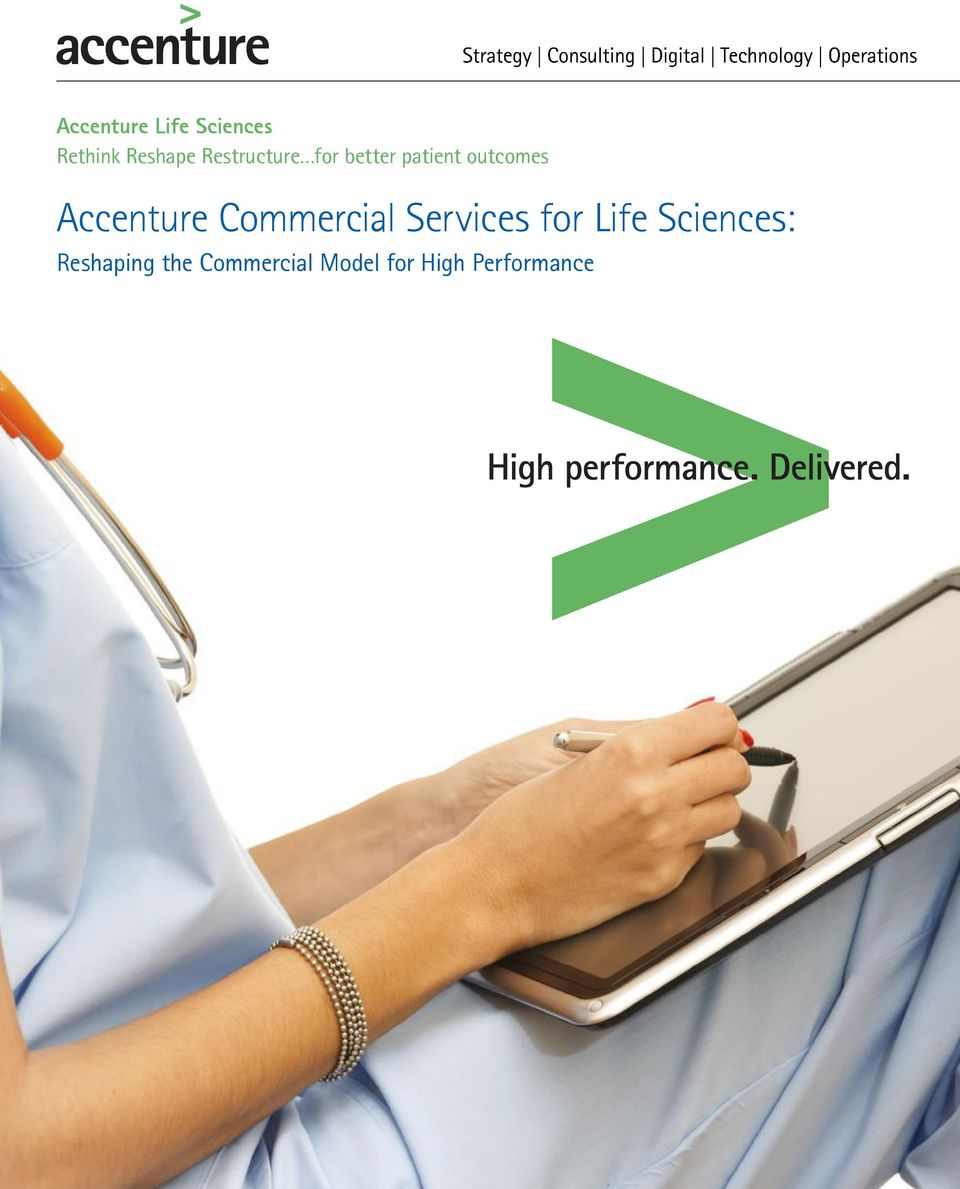 Accenture Commercial Services for Life
