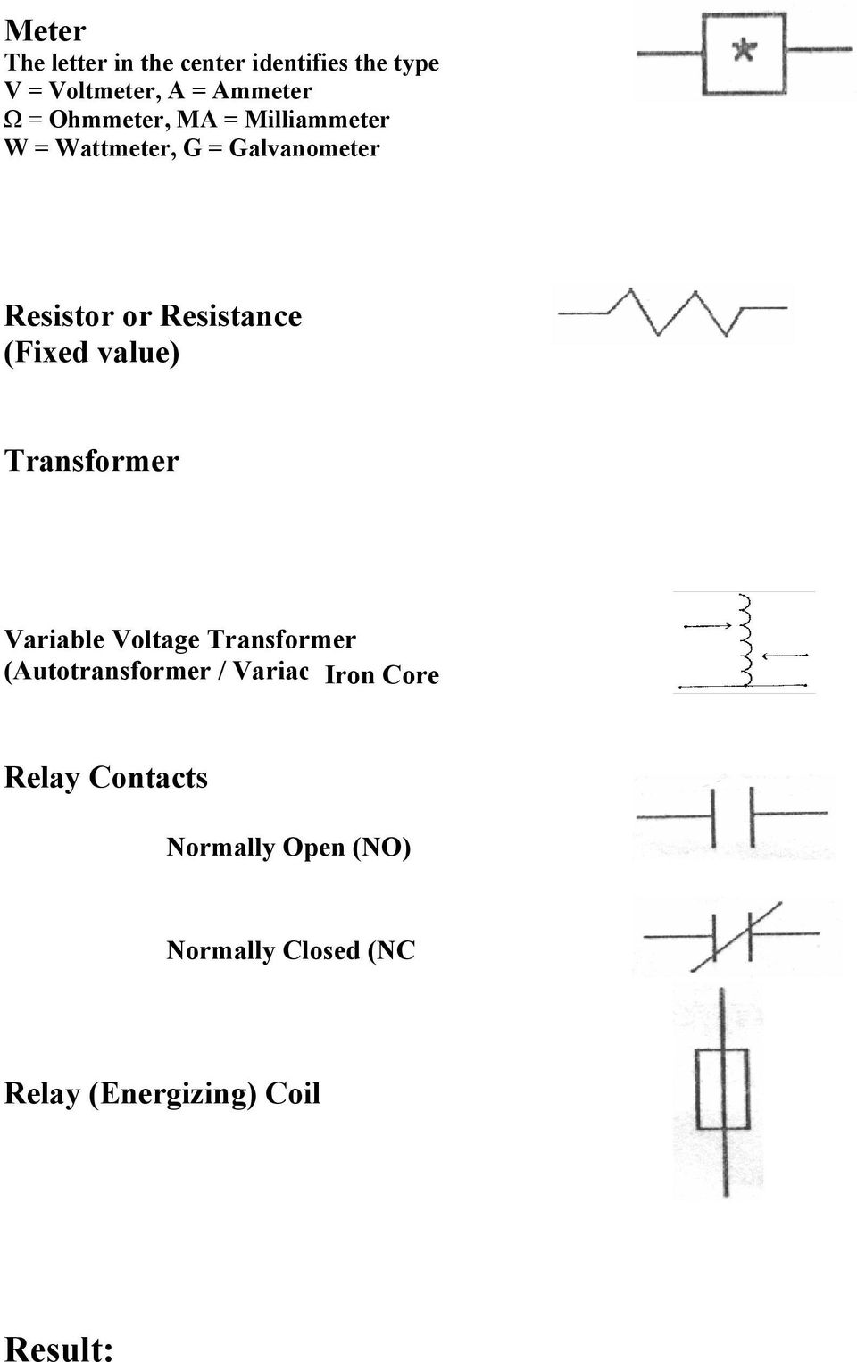(Fixed value) Transformer Variable Voltage Transformer (Autotransformer / Variac)