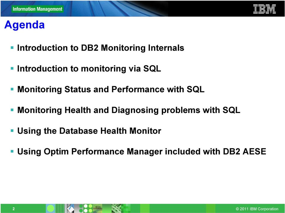 Monitoring Health and Diagnosing problems with SQL Using the