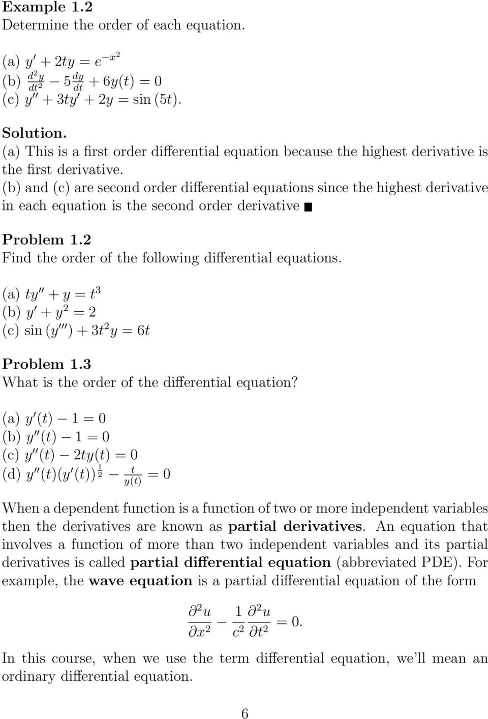 t amarnath an elementary course in partial differential equations pdf
