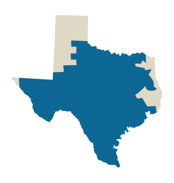 ERCOT Quick Facts ERCOT covers 75% of Texas land ERCOT handles 85% of Texas load (23 million consumers) via More than 40,500 miles of transmission lines and 550+ generation units (more than 74,000