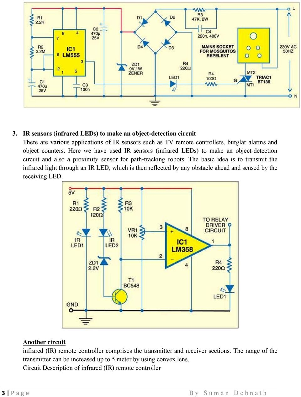 latest electronics projects with circuit diagram pdf