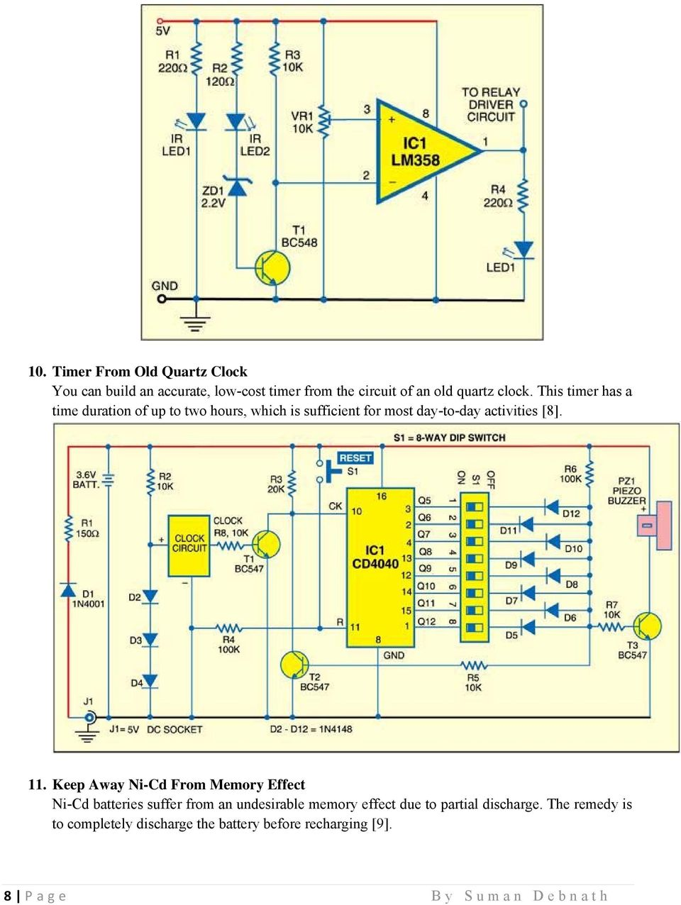 Electronic Dice Project Circuit Diagram Wiring Diagrams For Dummies Electronics With 270 Mini Pdf Simple Projects Basic