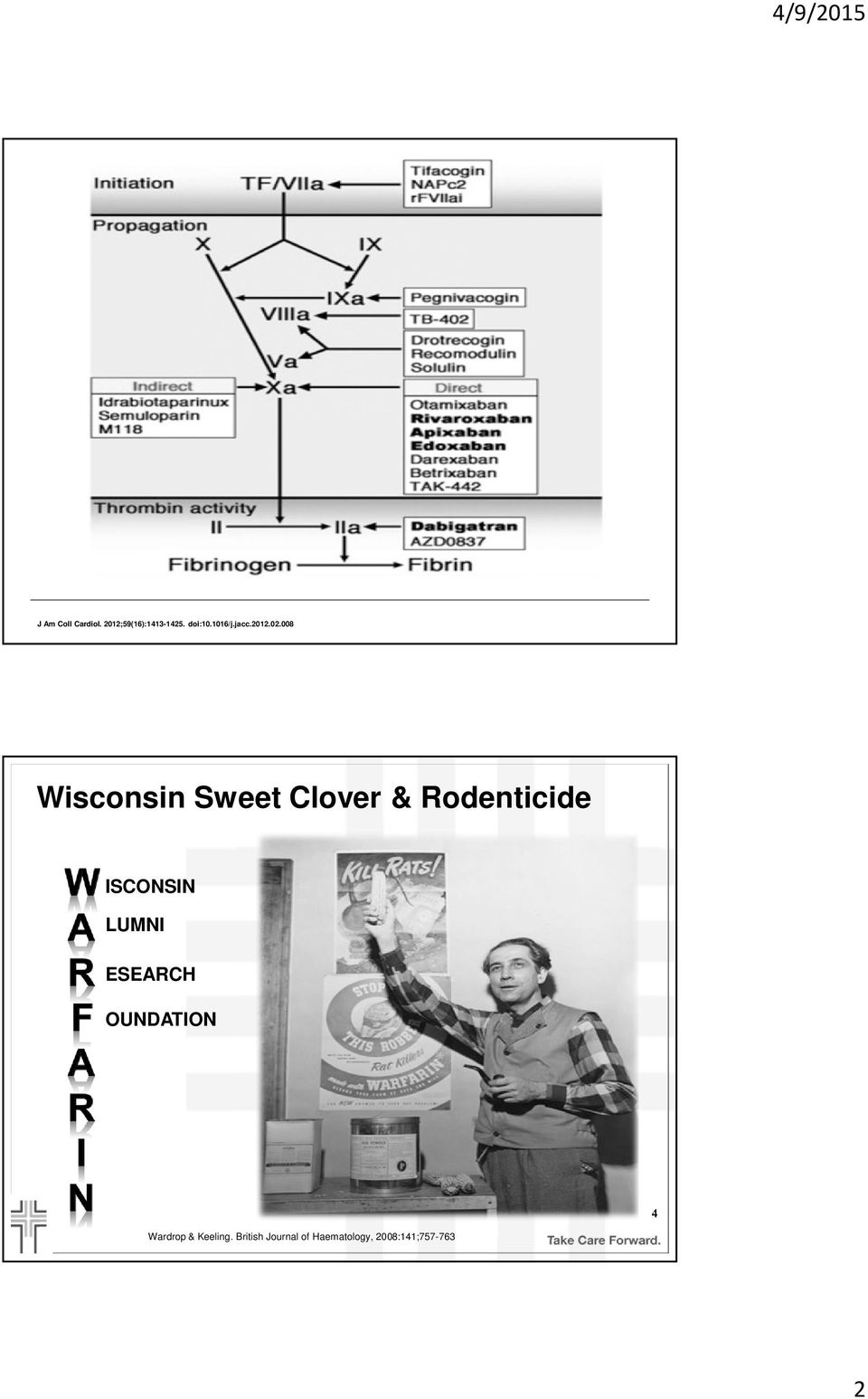 008 Wisconsin Sweet Clover & Rodenticide ISCONSIN