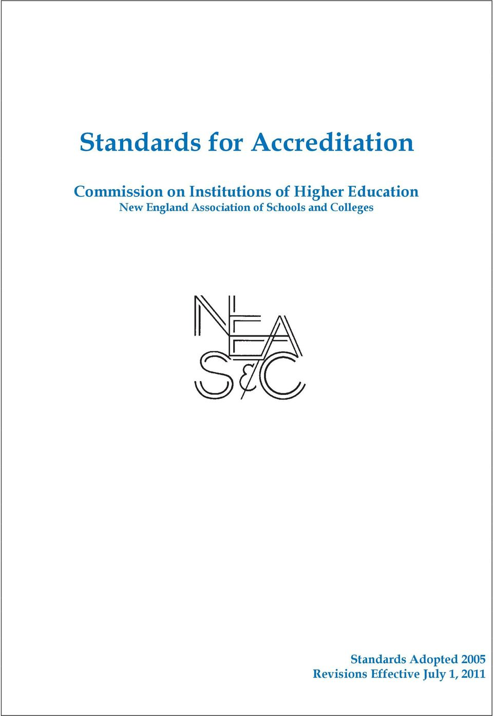 Association of Schools and Colleges
