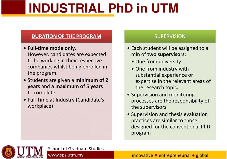 Construction thesis utm