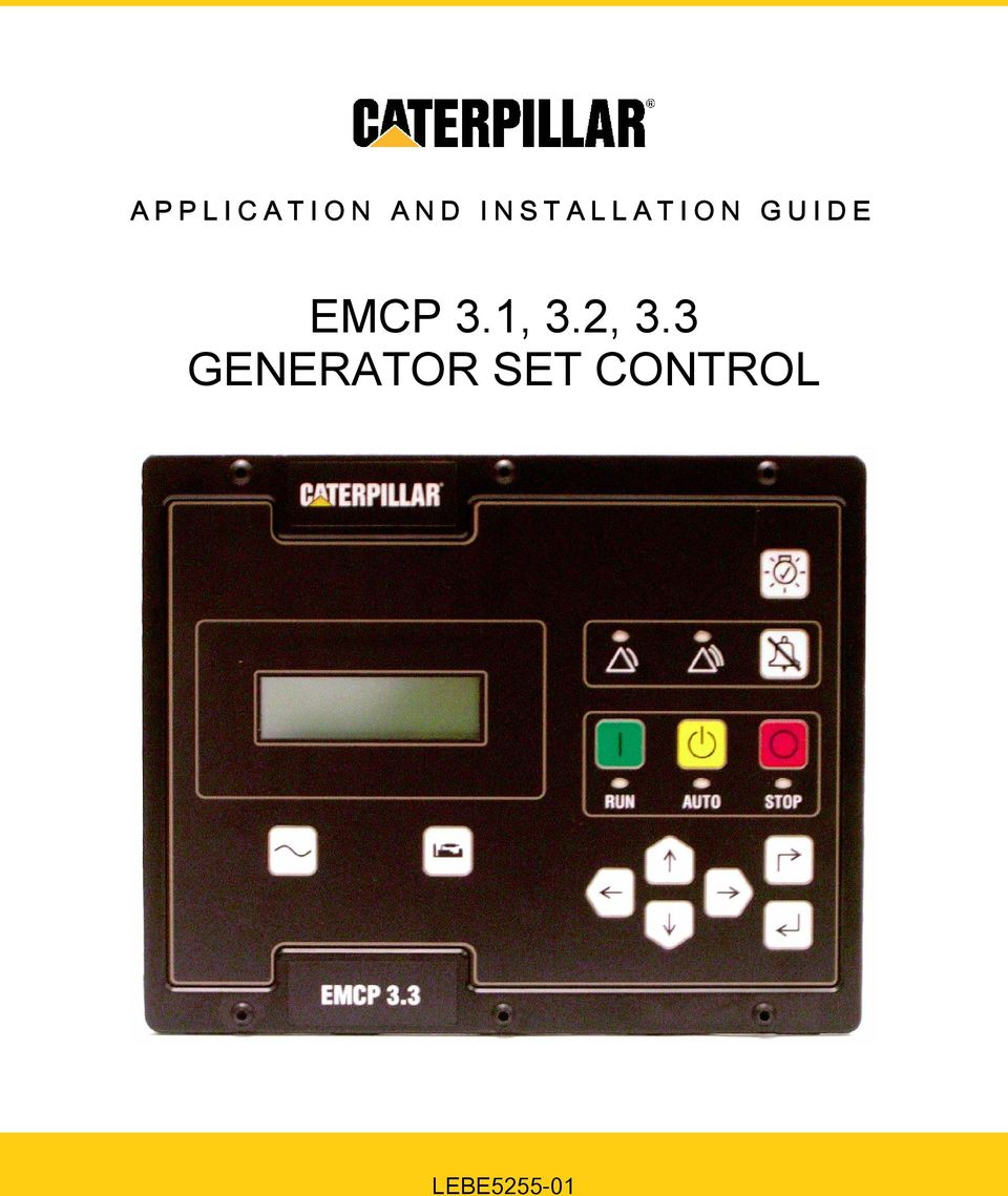 Emcp 31 32 33 generator set control pdf transcription cheapraybanclubmaster Choice Image