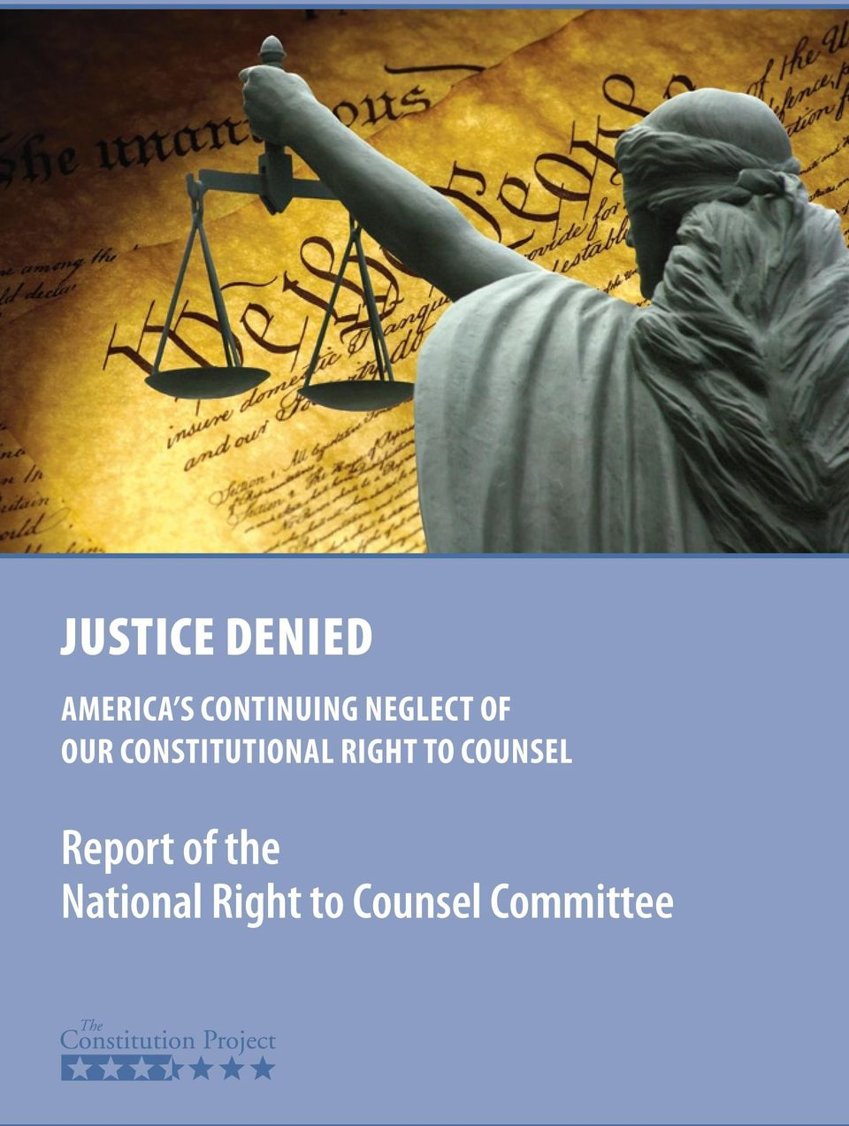 Constitutional Right to Counsel
