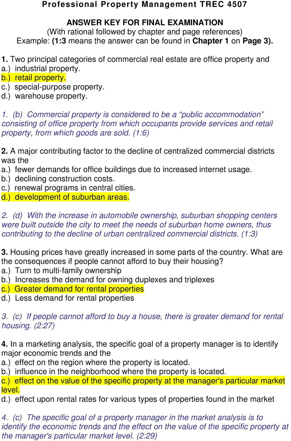(b) Commercial property is considered to be a public accommodation consisting of office property from which occupants provide services and retail property, from which goods are sold. (1:6) 2.