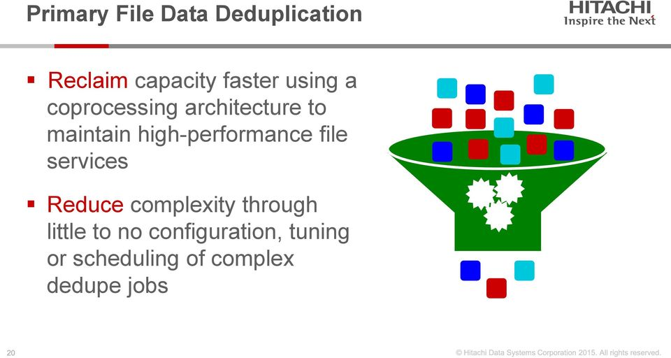 high-performance file services Reduce complexity through