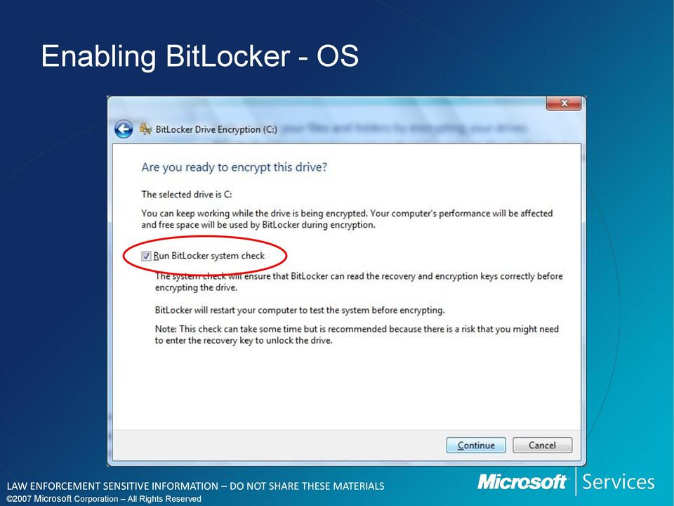 an introduction to the history of bitlocker to go and bitlocker Windows has a long history of providing at-rest data-protection solutions that   used space only encryption in bitlocker to go allows users to.