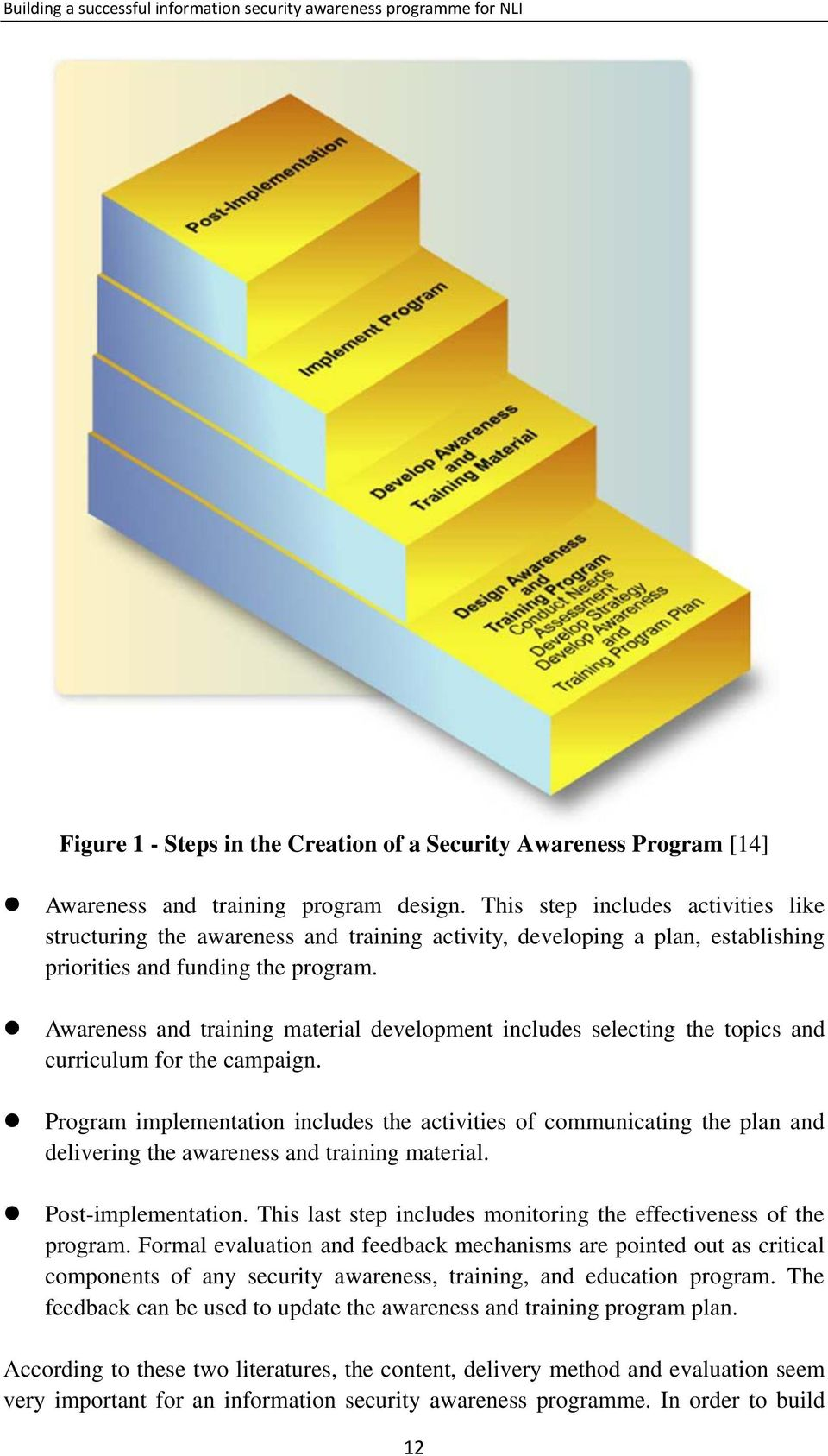 Awareness and training material development includes selecting the topics and curriculum for the campaign.
