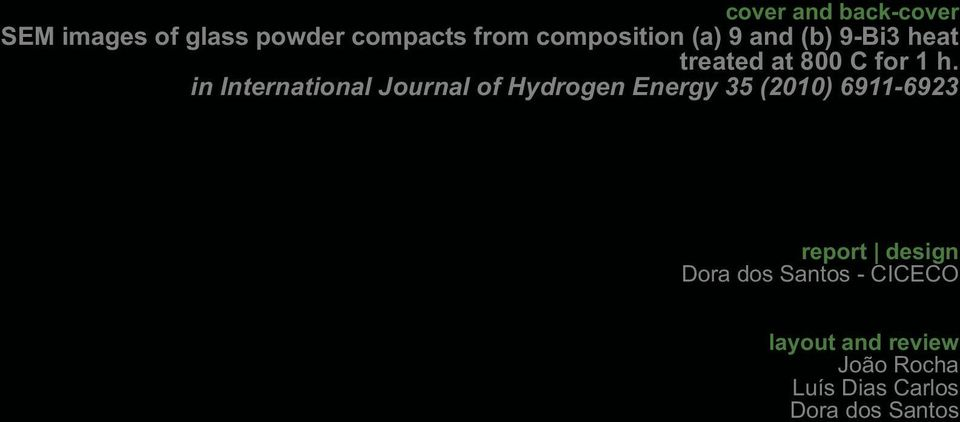 in International Journal of Hydrogen Energy 35 (2010) 6911-6923 report
