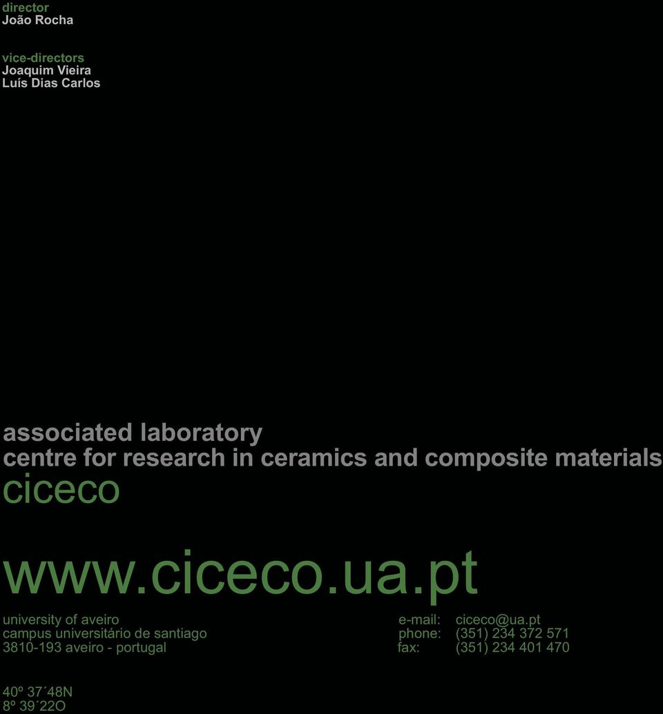 pt university of aveiro e-mail: ciceco@ua.