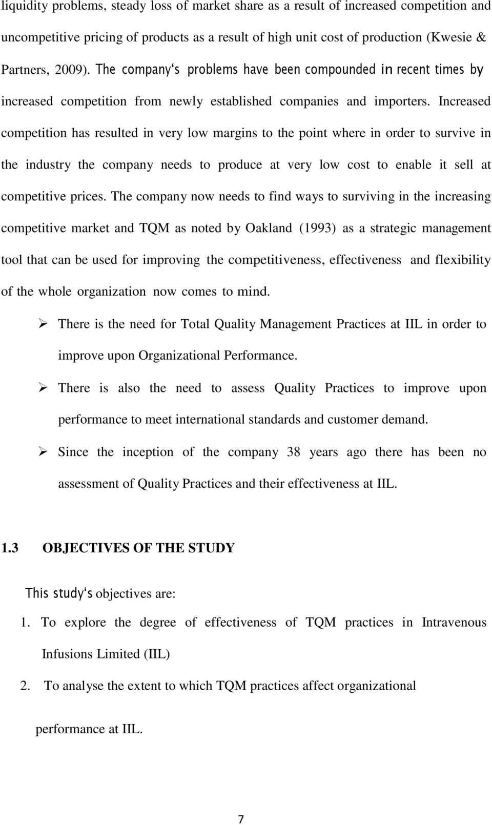 Phd Tqm Construction Industry Dissertation Thesis