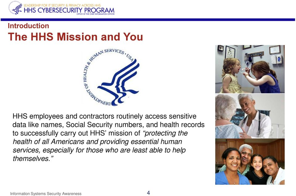 mission of protecting the health of all Americans and providing essential human services,