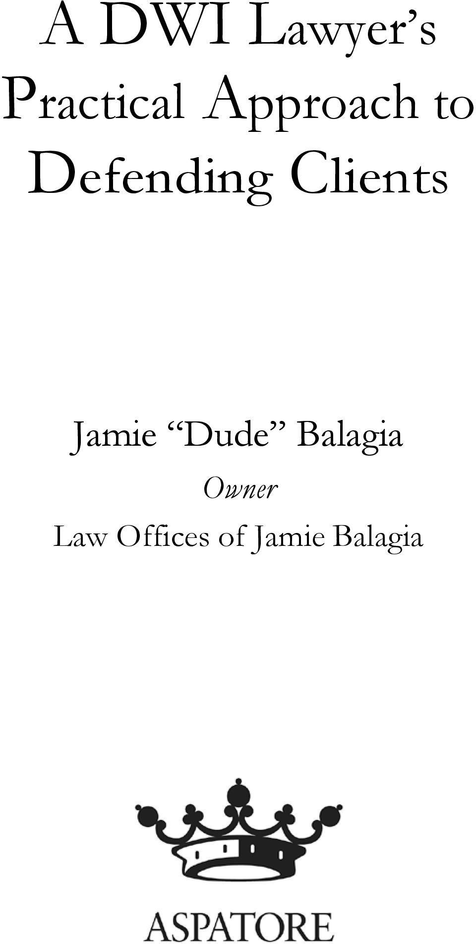Clients Jamie Dude Balagia
