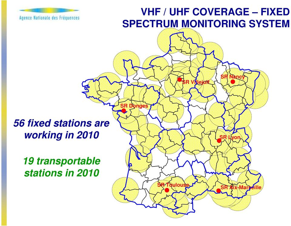 stations are working in 2010 SR Lyon 19